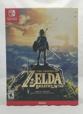 🔥The Legend of Zelda🔥 Breath of the Wild [Special Edition] Switch *NEW SEALED*