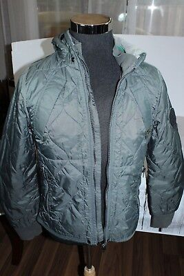 "Mens G-STAR RAW Vulcan Hooded Jacket MEDIUM 36"" chest Gray EXCELLENT A1"
