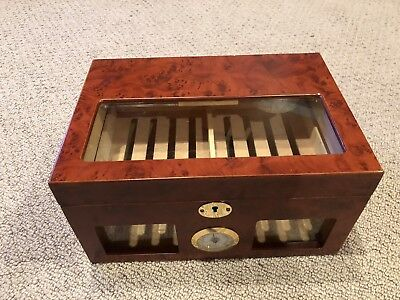 50 Count Cherry Colored Humidor