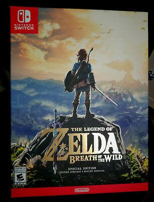 Nintendo Switch Legend of Zelda Breath of the Wild Special Edition BOX ONLY