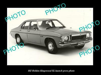 Old Large Historic Photo Of The Hz Holden Kingswood Sl Launch Press Photo