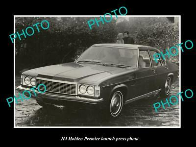 Old Large Historic Photo Of The Hj Holden Premier Launch Press Photo