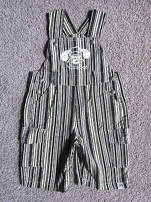 Baby Boy Size 0 Jungle Rumble Overalls