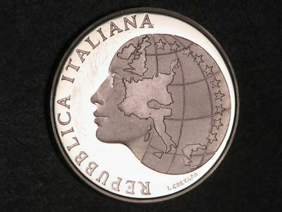 ITALY 1985 500 Lire Silver Choice Proof
