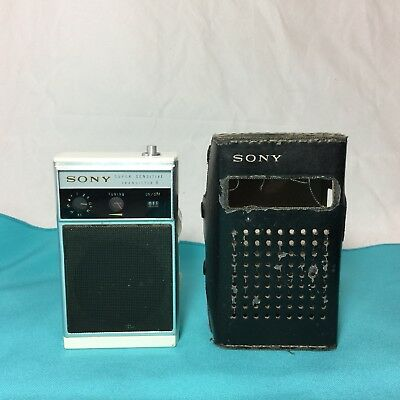Vintage Sony TR-830 Super Sensitive Transistor 8 Shirt Pocket Radio Japan, Rare!