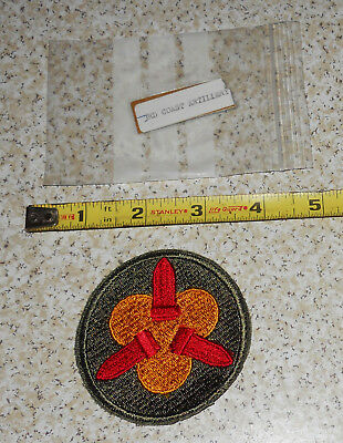 WWII US Military 3rd Coast Artillery Vintage Military Patch