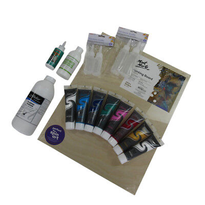Acrylic Pouring Essential Starter Kit - 16 pieces