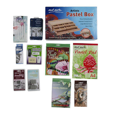 Mont Marte Sketching and Drawing Essential Starter Kit - 125pces