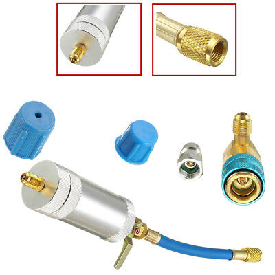 Car Oil & Dye Injector+Low R134A Coupler Adapter for Car Air Conditioning System