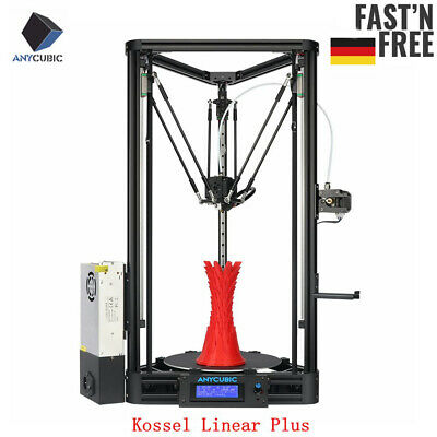 ANYCUBIC Kossel Linear Plus Delta Stampante 3d Auto Leveling DE STOCK