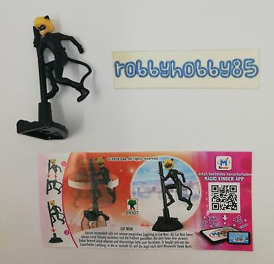 En307 Chat Noir + Bpz Germania Kinder Sorpresa 2018/2019 Miraculous