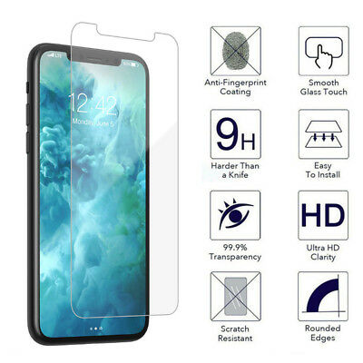 For Apple iPhone XS Max XR 9H Anti Scratch Tempered Glass Screen Protector