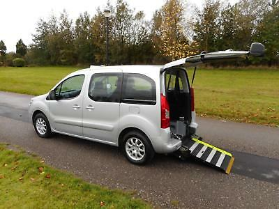 2011 Peugeot Partner Tepee 1.6 Hdi WHEELCHAIR ACCESSIBLE VEHICLE WAV
