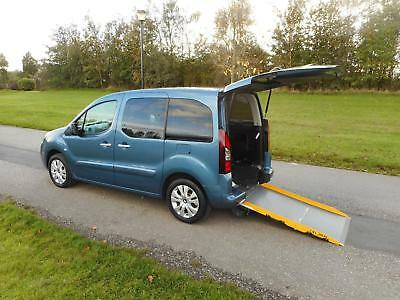 2015 Citroen Berlingo 1.6 Hdi Only 10K WHEELCHAIR ACCESSIBLE ADAPTED VEHICLE WAV