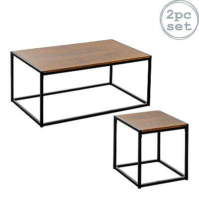 Grande Table Basse Industrielle Campagne Bois De Salon 120 Cm Eur