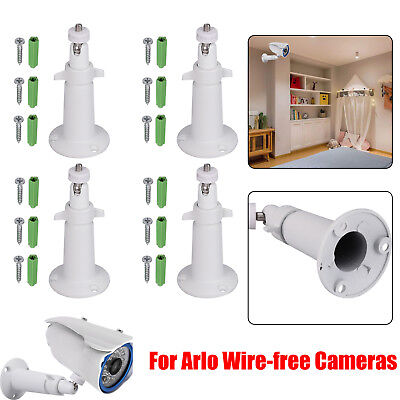 4PCS Camera Wall Mount Bracket Security For Wireless Arlo Pro Camer Adjustable