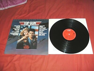 Top Gun VINYL LP Soundtrack BERLIN Loverboy, Cheap Trick TOP! Kombi Versand!