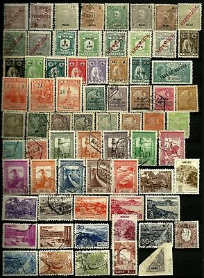 Macau 1893-2005 Mint Hinged & Used Collection on stockcards All Different