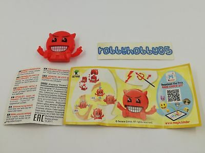 Se795 B Emojoy - Clicker + Bpz Kinder Merendero Italia 2018 Emoji Collection