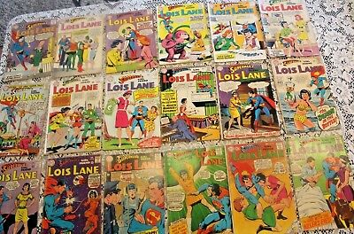 Superman's Girlfriend LOIS LANE ((18)) SILVER age issues!! #s 27-88 inclusive!
