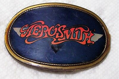 Aerosmith Vintage Pacifica MFG 1977 Belt Buckle