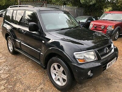 06 Reg Mitsubishi Shogun 3.2 Di-Dc 197 Warrior Leather, Climate. 7 Seats, Alloys