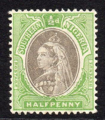 Southern Nigeria 1/2 Penny Stamp c1901-02 Mounted Mint SG1a