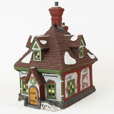 Department 56 Heritage Dickens Village Christmas W.M Wheat Cakes&Puddings #5808-