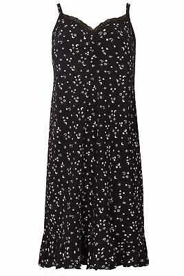 Yours Clothing Women's Plus Size Star & Moon Lace Trim Chemise
