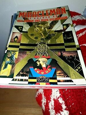 MIRACLEMAN graphic novel THE GOLDEN AGE first print GAIMAN buckingham ALAN MOORE