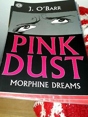 PINK DUST by J O BARR crow BATMAN moore DEADPOOL wolverine RARE one shot VENOM