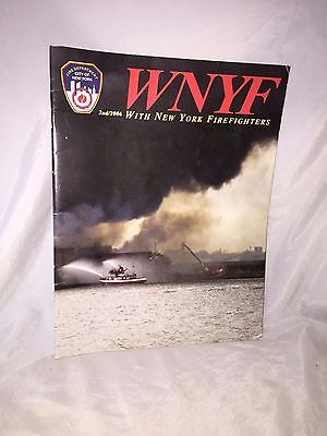 Excellent Firefighters WNYF 2/2006 Edition WITH NEW YORK FIREFIGHTER magazine