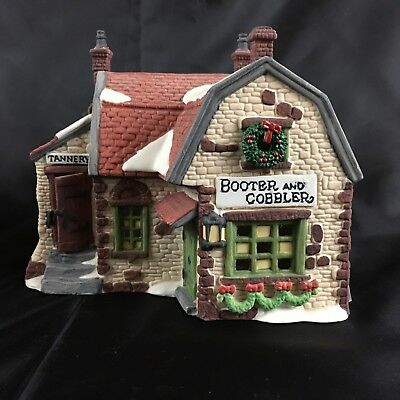 Department 56 Heritage Village Booter And Cobbler Dickens Village Series 1988