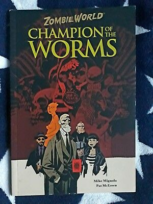 CHAMPION OF THE WORMS by MIKE MIGNOLA graphic novel VENOM batman HELLBOY moore