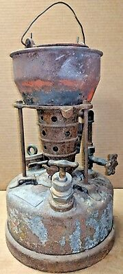 Vintage CLAYTON & LAMBERT Coil Fire Pot 22A Smelter Lead Melter Stove Furnace 1g
