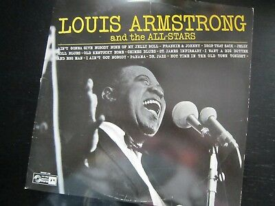 LP Vinyl Louis Armstrong and the All-Stars