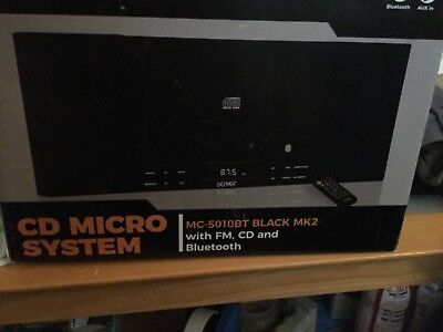 Denver CD Micro System. BT Bluetooth, FM, Remote Control