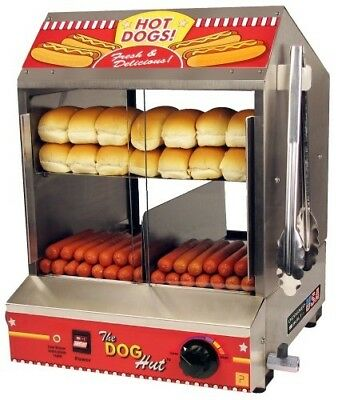 Paragon 8020 Hot Dog Hut Steamer Merchandiser para concesionarios profesionales