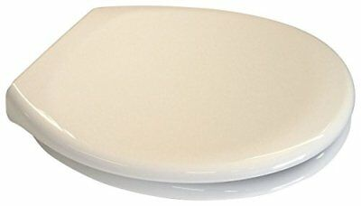 EuroShowers CREAM / OFF WHITE Toilet Seat - Soft Close with Quick Release Hinges