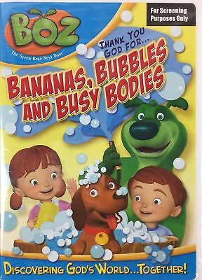 Boz Thank You God For Bananas Bubbles & Busy Bodies DVD BRAND NEW FACTORY SEALED
