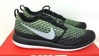 1a9f2861beaf NIKE ROSHE TWO Flyknit 365 2 Men s lifestyle sneakers -volt grey ...