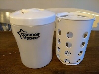 Tommee Tippee Microwave Baby Bottle Travel Steriliser Excellent Condition
