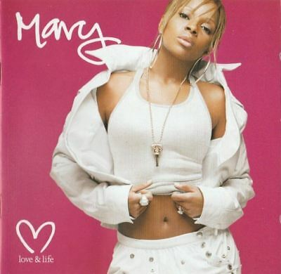 MARY J BLIGE love & life (CD, album, special edition, 2003) RnB/swing, very good