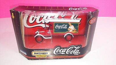 Matchbox Coca-Cola 1926 Ford Model TT 2001 Die Cast Delivery Truck New