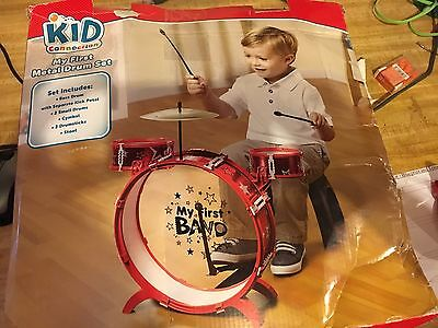 Kid Connection My First Band Metal Drum Set 259 22 00 Picclick