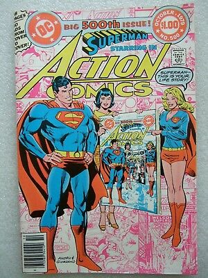 Action Comics  #500 Anniversary Issue. Superman's life story. NM