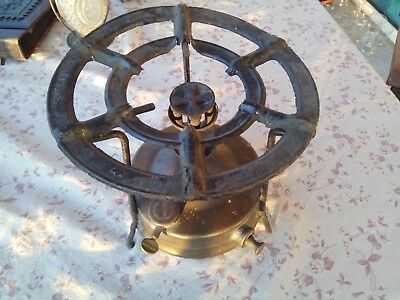 Vintage  Stove Brass Made In Sweden Kerosene Petrol