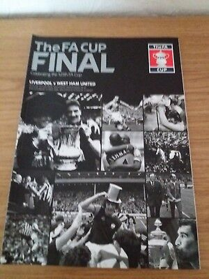 Liverpool FC v West Ham United FA Cup Final 2006 Programme Excellent Cond