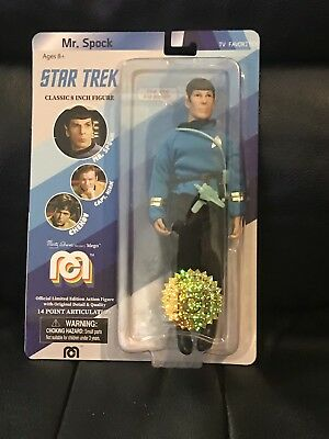 MEGO TARGET EXCLUSIVE Mr Spock , # 9520 of 10,000 - PayPal Only !!!!