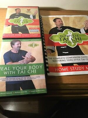 Complete Tai Chi Home Study Course DVD Set